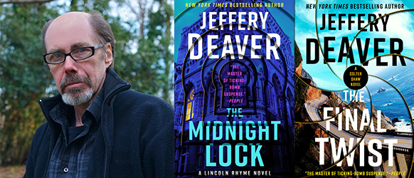 International Bestselling Author and Mystery Novelist Interviewed by Oline Cogdill, Acclaimed Mystery Fiction Reviewer and Los Angeles Times Book Prize Judge